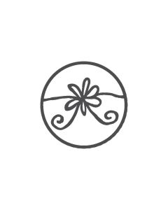 Woodies Rubber Stamp - Flower
