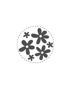 Woodies Rubber Stamp - Flowers 2