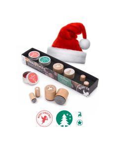 Woodies Motivstempel KIT - Weihnachten