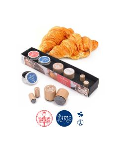 Woodies Rubber Stamp KIT - Paris