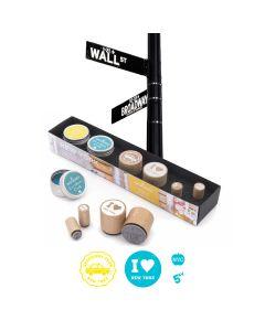 Woodies Rubber Stamp KIT - New York