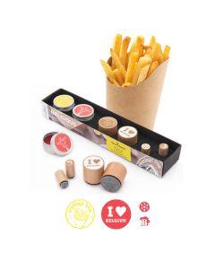 Woodies Rubber Stamp KIT - Belgium